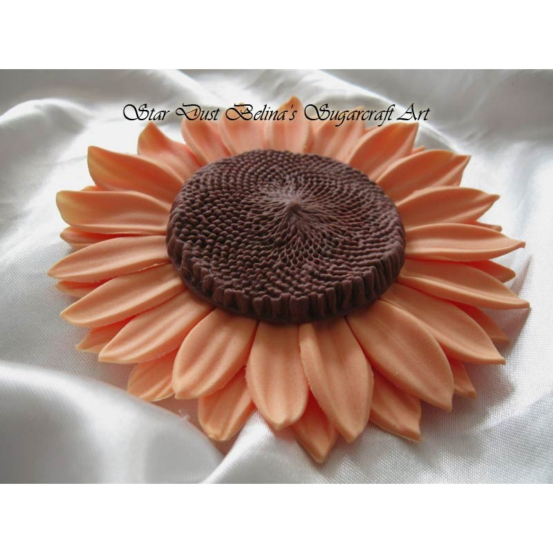 Large Edible Sunflowers sugar flowers